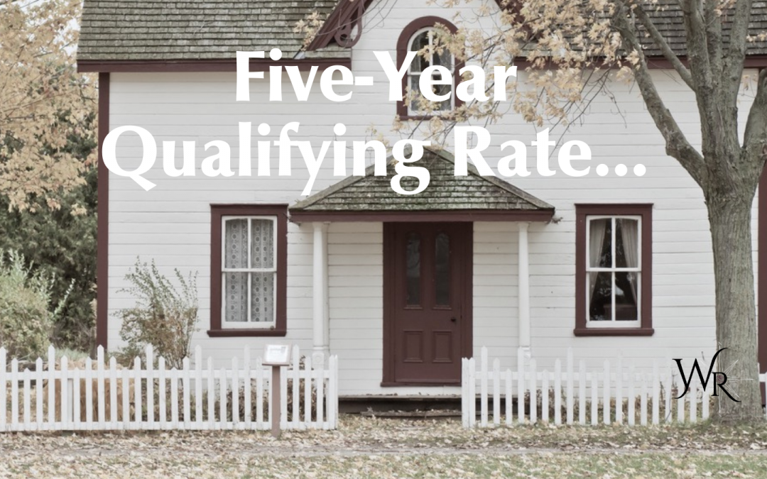 The five-year benchmark qualifying rate is now 4.94%